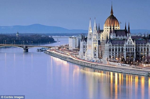 Budapest Regina del Danubio 3 Gennaio
