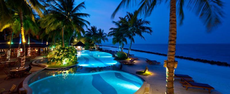 INVERNO 2014/2015 MALDIVE HOTEL FUN ISLAND RESORT beachfront room euro 1.190